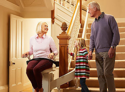 Primary thumb acorn stairlifts family