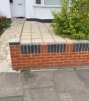 Square thumb driveway
