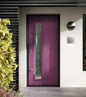 Square thumb composite doors copy