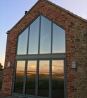 Square thumb sterling 40 gable reflections