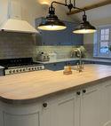 Square thumb midland garage conversions kitchen