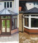 Square thumb conservatory rebuild which