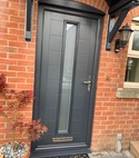 Square thumb loxley door