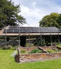 Square thumb solar pv panels wiltshire