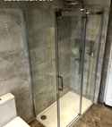 Square thumb shower in high end bathroom fitted by a1 gas ltd of hornchurch   copy