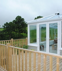 Square thumb holland decking and conny