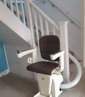 Square thumb curved stairlifts available around dartford