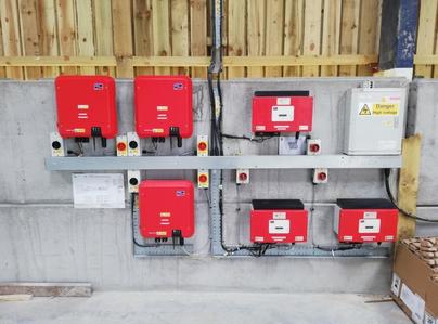 Primary thumb solar inverters