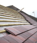 Square thumb tiled roof 2