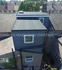 Square thumb two dormer loft conversion aerial view   n18  1