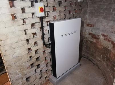 Primary thumb tesla powerwall 2