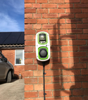 Square thumb rolec ev charger installation