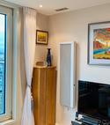 Square thumb vertical electric radiators in london
