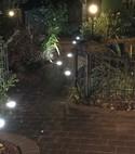Square thumb garden lights