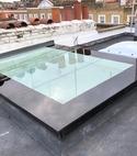 Square thumb skylight glass 4