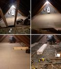 Square thumb loft before   after