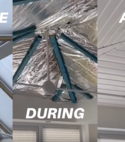 Square thumb sagars conservatory roof insulation before and after