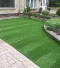 Square thumb artificial grass