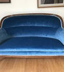 Square thumb regency sofa completed