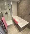 Square thumb bathroom wall panels by a1 gas ltd of hornchurch essex