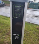Square thumb rolec ev charger install