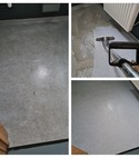 Square thumb saftey floor cleaning