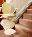 Square thumb reconditioned stairlifts from  995.00