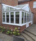 Square thumb conservatory restoration after