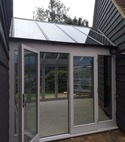 Square thumb bespoke hardwood conservatory doors