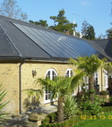 Square thumb   10 kwp in roof on slate