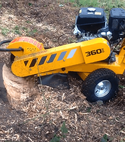 Square thumb predator 360 stump grinder