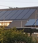 Square thumb solar pv and solar thermal