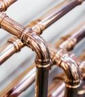 Square thumb copper press