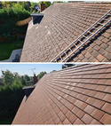 Square thumb roof cleaning