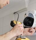 Square thumb envirovent extractor fan installation2