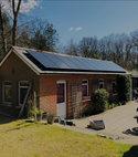 Square thumb solar panel installation 006