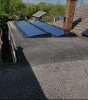 Square thumb solar panel installation 008