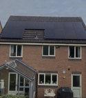 Square thumb solar panel installation 004