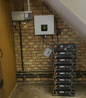 Square thumb solar battery installation 011