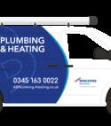 Square thumb ab plumbing and heating van  2
