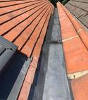 Square thumb  buckhurst hill   code 5 lead box gutter repair  4