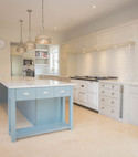 Square thumb approved used kitchen  in frame painted bespoke  essex   18