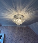Square thumb light fitting replacement 1