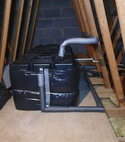 Square thumb cold water storage cistern