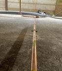 Square thumb lpg gas installation