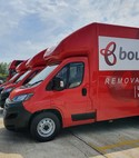 Square thumb bournes 3.5 ton removal lorries  9