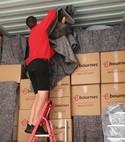 Square thumb loading removal boxes