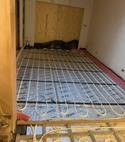 Square thumb underfloor heating
