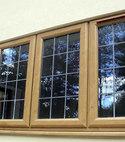 Square thumb irish oak windows