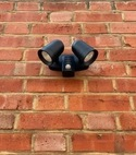 Square thumb security lighting